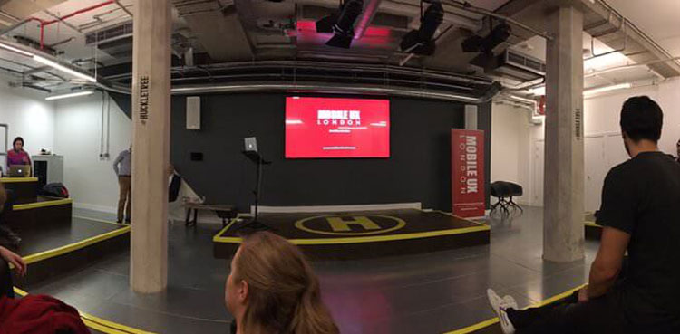 MOBILE UX LONDON MEETUP OCTOBER 2016 - UX FOR GOOD