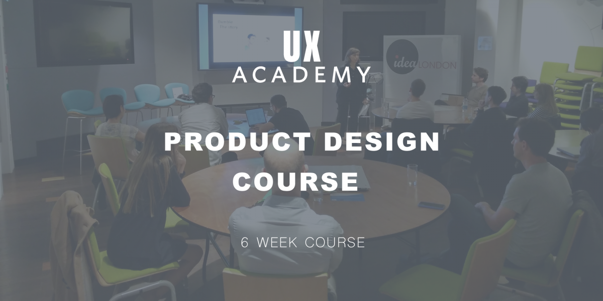 UX Academy product design course 2160 x 1080