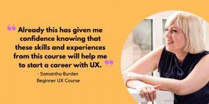 Beginner UX Course feedback