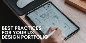 ux portfolio best practice